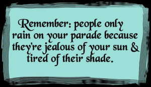 Remember Jealousy Quotes For Friends