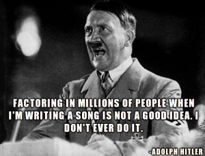 Hitler Quotes attributed to Taylor Swift.... Hilarity ensues