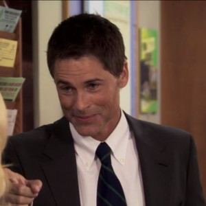 Chris Traeger literally loves almost every second of every day.
