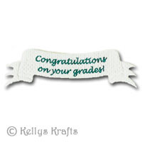 Mulberry Banner - Congratulations on your grades! (1 Piece)