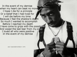 2Pac quote Image