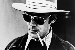 """... to anyone, but they've always worked for me."""" ― Hunter S. Thompson"""
