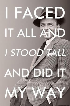 Frank Sinatra Style