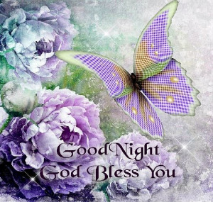 God Blessed You, Goodnight Quotes, Night God, Night Blessed, Lavender ...
