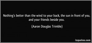 Aaron Douglas Trimble Quote