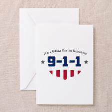 911 Dispatcher Greeting Cards
