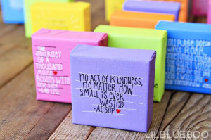 random acts of kindness ideas via lilblueboo #roak #quote