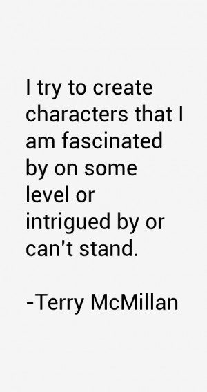 Terry McMillan Quotes & Sayings