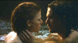 Night's Watch jon and ygritte