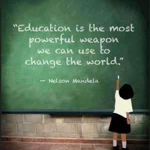 south african education quotes for the day