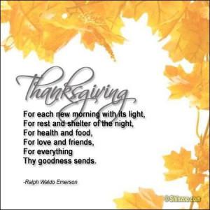 Thanksgiving prayer 3