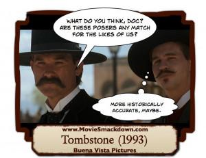 Wyatt Earp (1994) -vs- Tombstone (1993) | Movie Smackdown