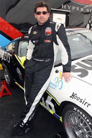 Patrick Dempsey drives No. 156 Hyper Sport Ford Mustang GT