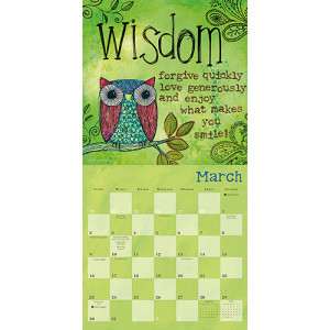Home > Obsolete >A Year of Hope and Inspiration 2014 Wall Calendar