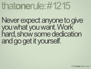 Quotes about hard work and dedication quotesgram for Hard exterior quotes