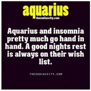 Aquarius Qualities ... huh. well. no wonder we love sleep so much. we ...