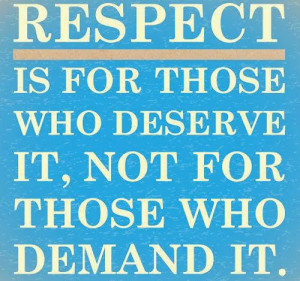 respect quotes for students