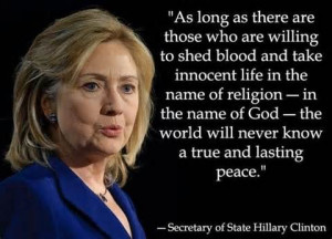 Tag Archives: Hillary Clinton atheist quotes
