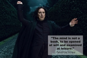 examined at leisure harry potter picture quote