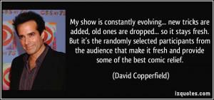 David Copperfield Quote