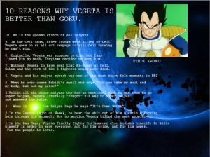Vegeta For Life.. I'm a huge Vegeta fan so I had to make this. Enjoy ...