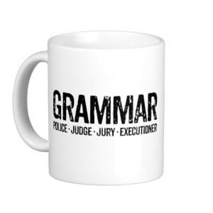 Grammar Police Mug Funny Coffee Mugs Teachers
