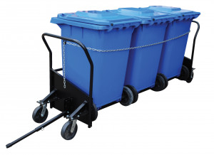 Garbage Can Cart