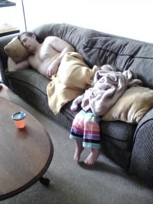 Bad babysitter!