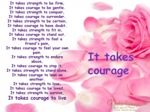 Courage Quotes Graphics