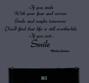 Michael Jackson Inspirational Removable Vinyl Wall Word Letters Quote ...