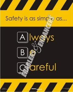 Description/ Specification of Safety at Workplace Posters