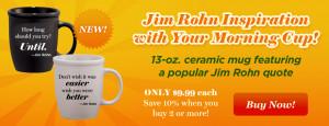 Jim Rohn Quote Coffee Mugs