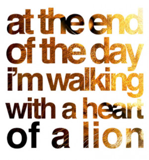 Heart Of A Lion Quotes The lion king quotes