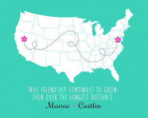 ... Friendship, Quote, Moving Away, Miss You, BFF, Bestie, Names, Dotted