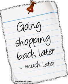 love shopping!!!