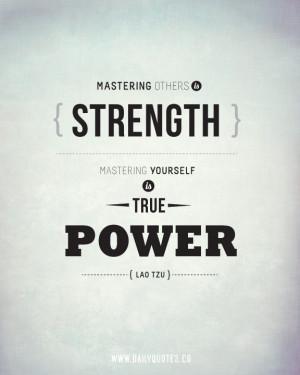 Lao Tzu Quotes - Strength Quote