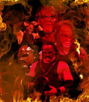 Wwe Half Masked Kane Years