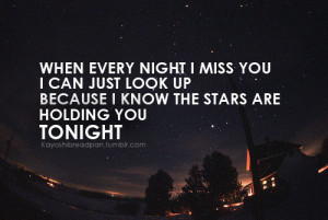 quotes # saying # love quotes # fm static # tonight # stars # star ...