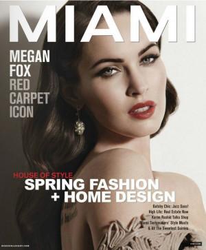 Megan Fox Miami Magazine March 2012