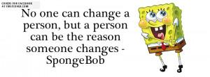 Spongebob Quote cover