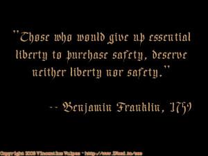 Ben Franklin Quotes Liberty