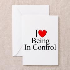 Love (Heart) Being In Control