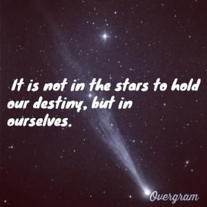 Shakespeare quote.
