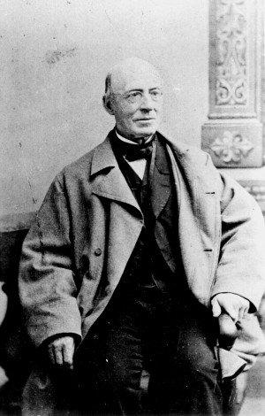 Prominent American abolitionist William Lloyd Garrison