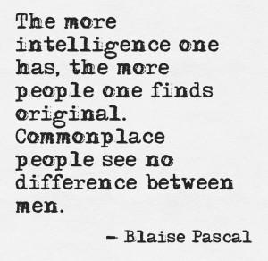 French philosopher Blaise Pascal, Pensées