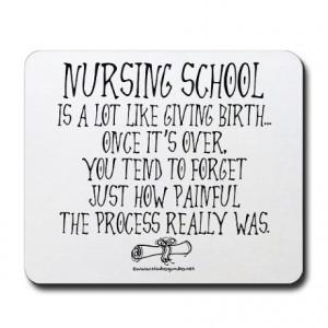 Funny Nurse Quote Nursing School Cafepress