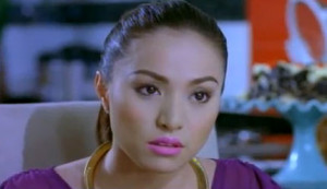 Cristine Reyes plays Cha, the pretty nouveau rich wife.