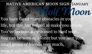 Full Wolf Moon Jan. Positive Quotes Inspiration