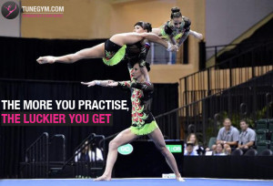 New Acrobatic Gymnastics motivational quotes and posters @ Tunegym ...