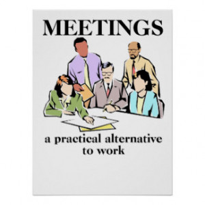 Quotes About Meetings Humor